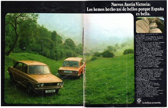 Austin Victoria Advert