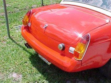 MGB rubber bumper choices