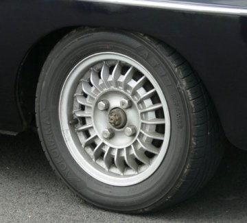 MGB Alternative Wheel Rims