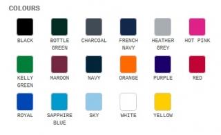 Polo shirt colours